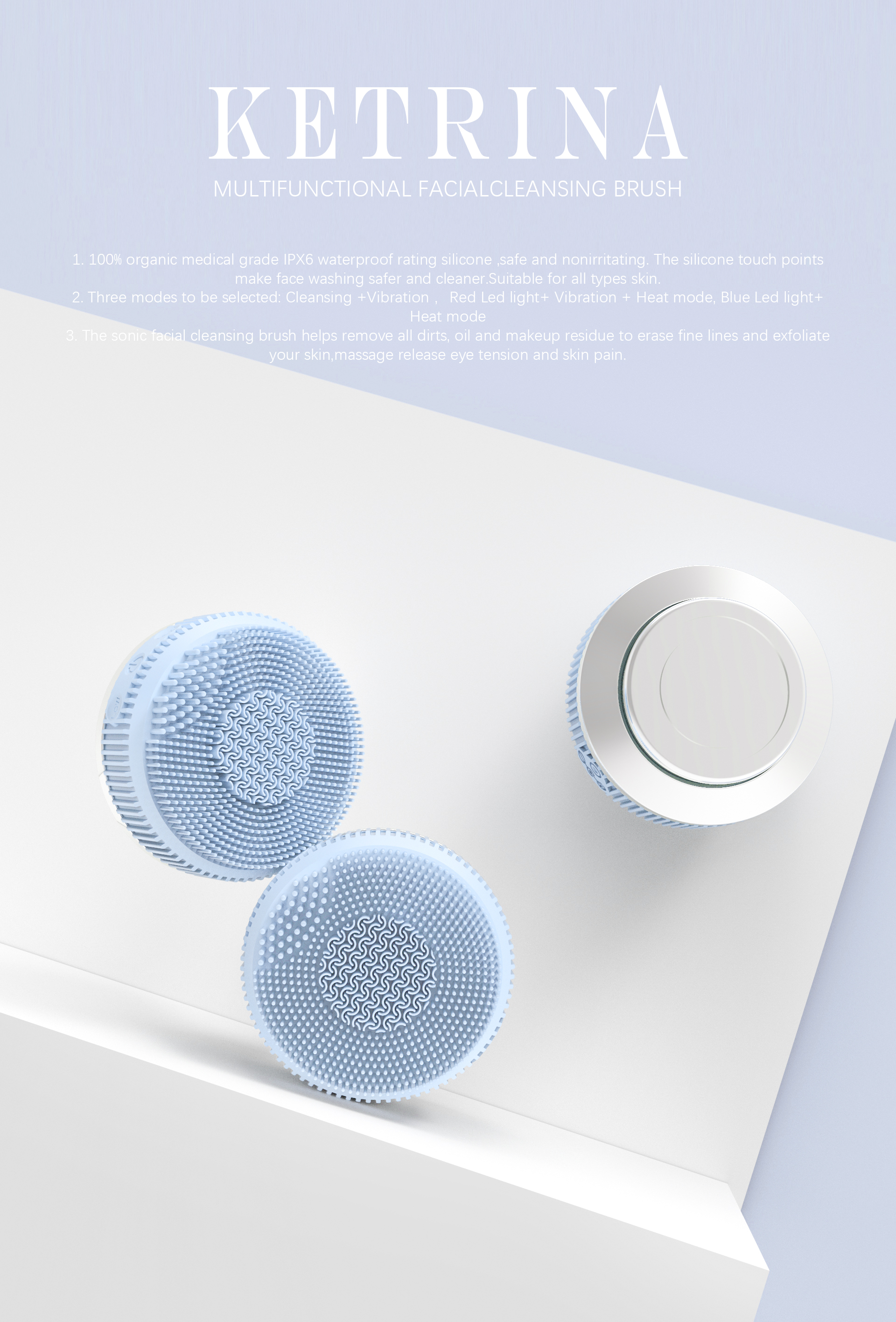 Face Brush Facial Cleansing Electric Featured Image