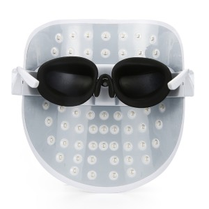Rechargeable 7 color led therapy mask