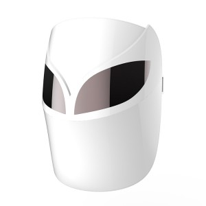 Infrared face mask led light therapy