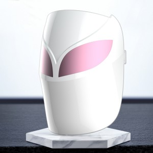 Light therapy led mask light therapy led face mask face mask voice activated led
