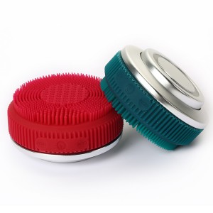 This Year's Fashion Dual Sided RF Face Wash Apply Brush