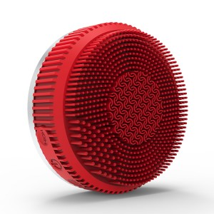 Rechargeable Waterproof Silicone Facial and Body Cleansing Brush