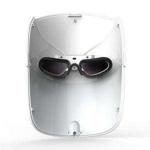 New design led light therapy facial mask for face whitening and acne treatment