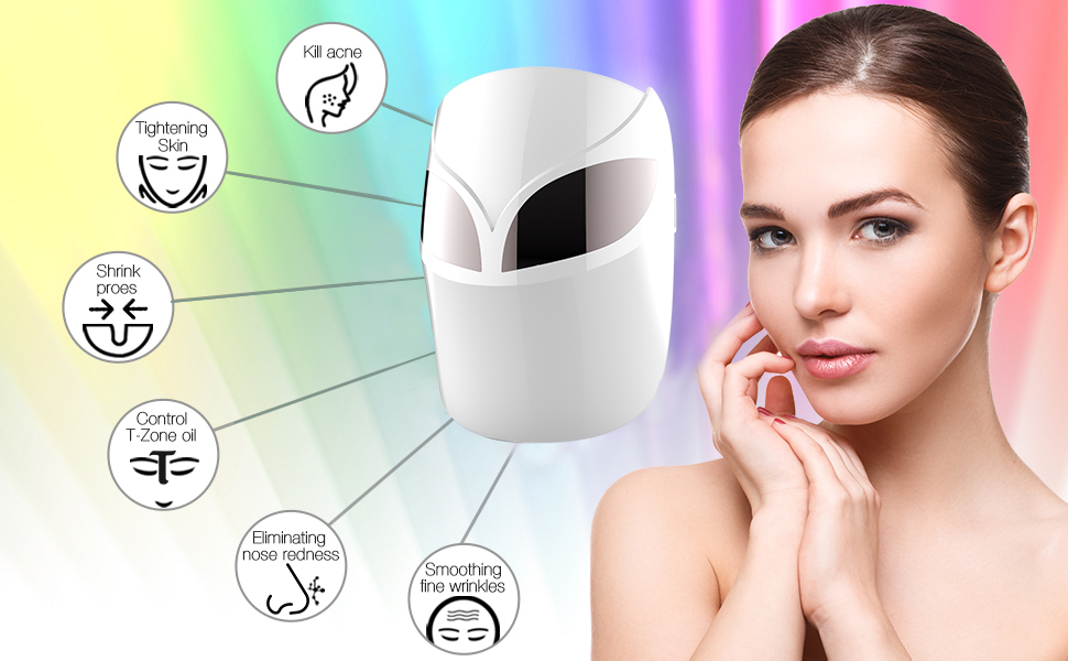 LED facial mask function 2