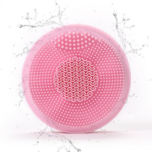 Facial Cleansing Brush With LED Light Therapy