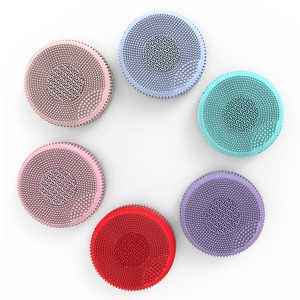 ipx6 facial cleansing brush facial cleansing massager brush silicone face brush facial cleansing